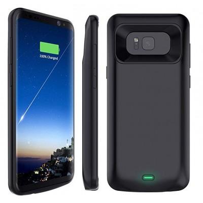 Samsung Galaxy s8+ dėklas - baterija 5500 mAh