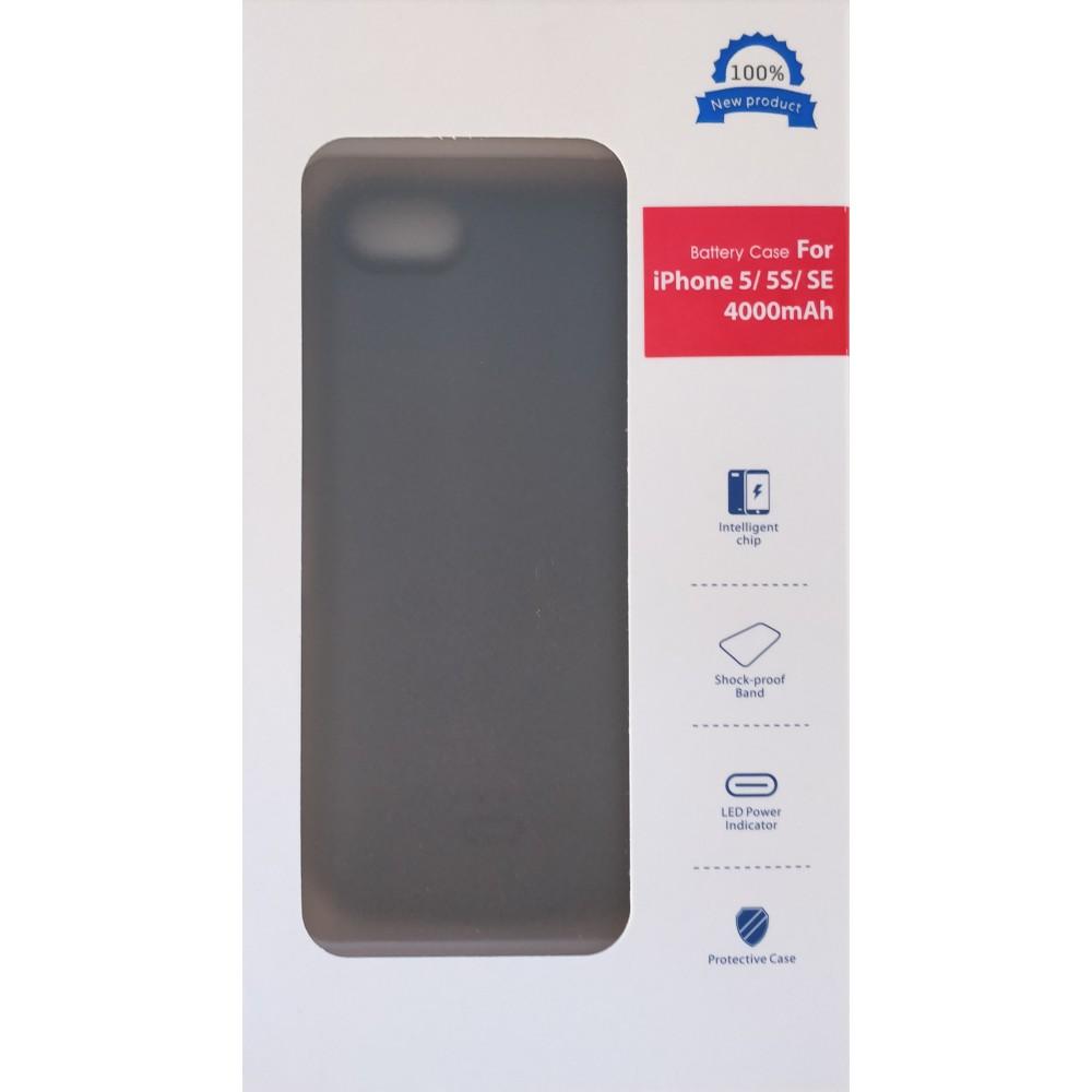 iPhone 5 / 5s / SE dėklas-baterija 4000mah