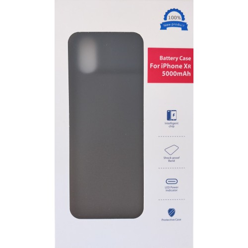 iPhone Xr dėklas-baterija 5000mah