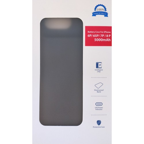 iPhone 6P / 6sP / 7P / 8P dėklas-baterija 5000mah