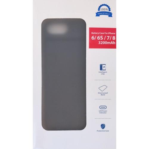 iPhone 6 / 6s / 7 / 8 dėklas-baterija 3200mah