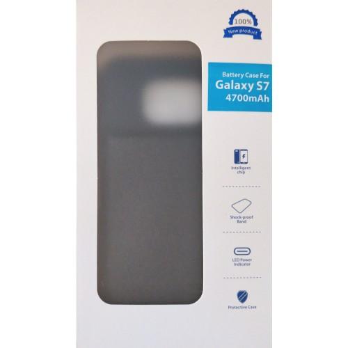 Samsung Galaxy s7 dėklas - baterija 4700 mAh