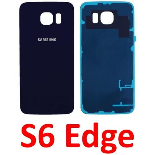 Samsung Galaxy S6 Edge baterijos dangtelis (stiklinis)