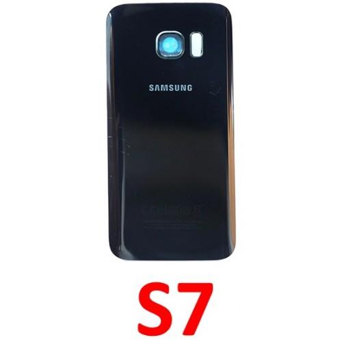 Samsung Galaxy S7 baterijos dangtelis (stiklinis)