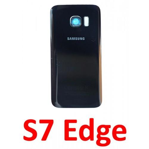 Samsung Galaxy S7 Edge baterijos dangtelis (stiklinis)