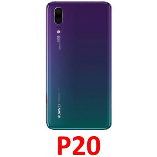 Huawei P20 baterijos dangtelis (stiklinis)
