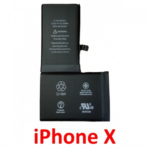 iPhone X baterija 2716 mAh (Originali)