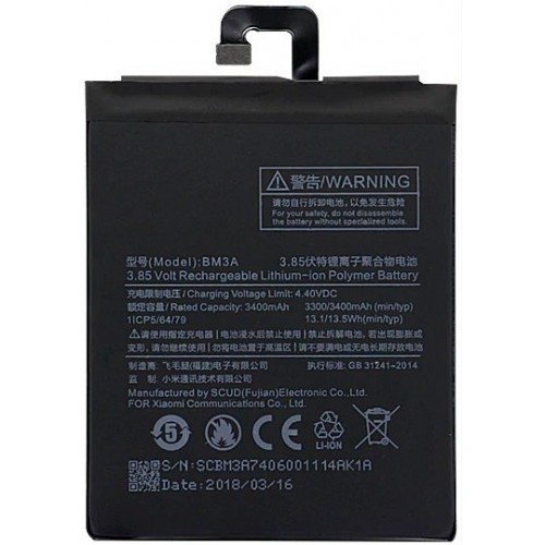 Xiaomi Mi Note 3 baterija