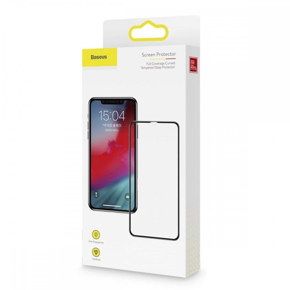 iPhone Xs Max Apsauginis stiklas BASEUS (stiklinis)