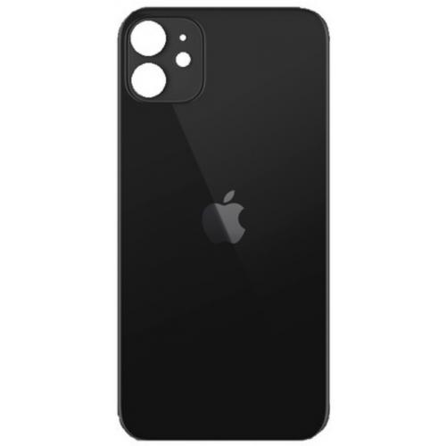 iPhone 11 galinis stiklas juodas