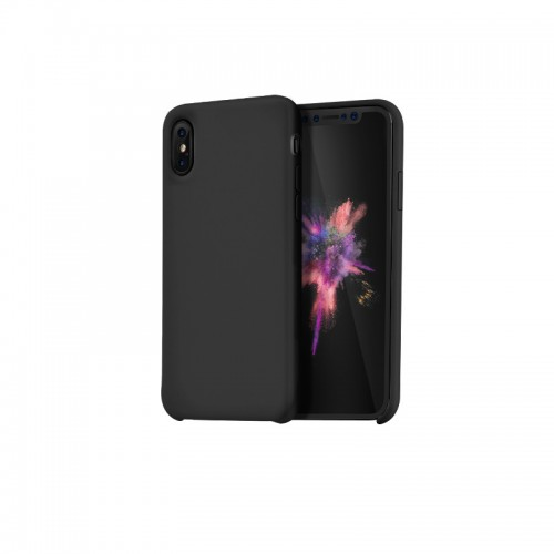 """Dėklas iPhone Xs Max """"HOCO Pure Series"""" (juodas)"""