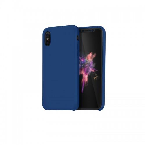 """Dėklas iPhone Xs Max """"HOCO Pure Series"""" (mėlynas)"""