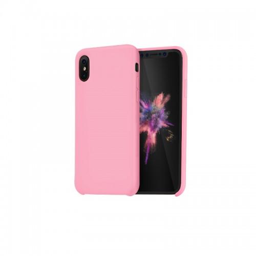 """Dėklas iPhone X """"HOCO Pure Series"""" (rožinis)"""