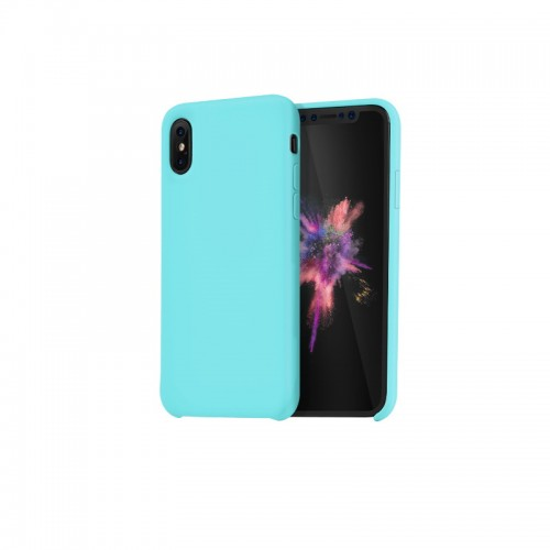 """Dėklas iPhone X """"HOCO Pure Series"""" (mėlynas)"""