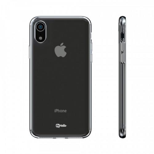 """Dėklas iPhone 12 / 12 Pro """"BeHello ThinGel"""" (skaidrus)"""