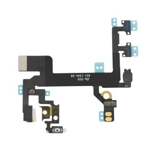 iPhone 5s ON/OFF, garso mygtukų šleifas (originalus)